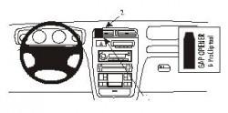 Fixation voiture Proclip  Brodit Hyundai XG Réf 852768