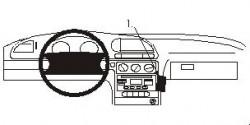 Fixation voiture Proclip  Brodit Ford Mondeo Réf 852780