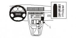 Fixation voiture Proclip  Brodit Audi A4 Avant Réf 852798