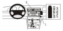 Fixation voiture Proclip  Brodit BMW 316-330/M3 E46 Réf 852805