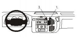 Fixation voiture Proclip  Brodit Ford Tourneo Réf 852809