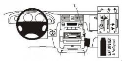 Fixation voiture Proclip  Brodit Hyundai Trajet Réf 852814