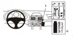 Fixation voiture Proclip  Brodit Toyota MR2 Spyder Réf 852819