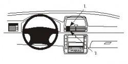 Fixation voiture Proclip  Brodit Seat Alhambra Réf 852835