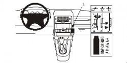 Fixation voiture Proclip  Brodit Audi A2  PAS pour les modèles avec écran de navigation. Réf 852838