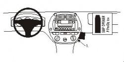 Fixation voiture Proclip  Brodit Toyota RAV 4 Réf 852841