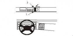 Fixation voiture Proclip  Brodit Volvo FL6 Réf 852858