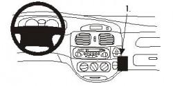 Fixation voiture Proclip  Brodit Renault Megane Réf 852864