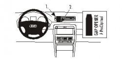 Fixation voiture Proclip  Brodit Audi A4 Avant Réf 852870