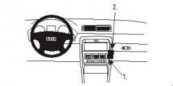 Fixation voiture Proclip  Brodit Audi A4 Avant Réf 852871