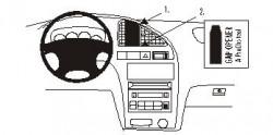 Fixation voiture Proclip  Brodit Hyundai Elantra Réf 852872