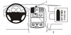 Fixation voiture Proclip  Brodit Mazda Demio Réf 852876