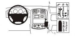 Fixation voiture Proclip  Brodit Mazda Demio Réf 852877