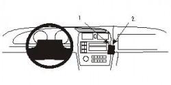 Fixation voiture Proclip  Brodit Toyota Avalon Réf 852883