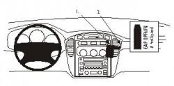 Fixation voiture Proclip  Brodit Toyota Highlander  PAS pour les modèles avec un écran de navigation. Réf 852893