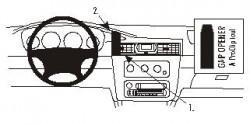 Fixation voiture Proclip  Brodit Chrysler Sebring Convertible Réf 852896