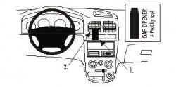 Fixation voiture Proclip  Brodit Kia Rio Réf 852914