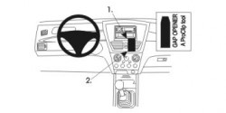 Fixation voiture Proclip  Brodit Suzuki Liana Réf 852926