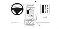 Fixation voiture Proclip  Brodit Renault Clio II Réf 852934