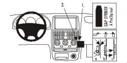Fixation voiture Proclip  Brodit Kia Carens Réf 852940