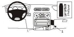 Fixation voiture Proclip  Brodit Daihatsu Terios Réf 852943