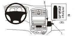 Fixation voiture Proclip  Brodit Hyundai Sonata Réf 852952