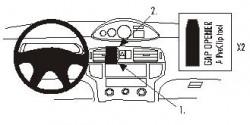 Fixation voiture Proclip  Brodit Hyundai Matrix Réf 852953