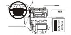Fixation voiture Proclip  Brodit Kia Carnival Réf 852958