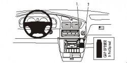 Fixation voiture Proclip  Brodit Toyota Sienna Réf 852971