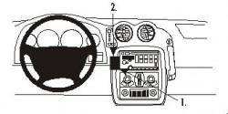 Fixation voiture Proclip  Brodit Pontiac Aztek Réf 852975