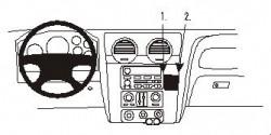 Fixation voiture Proclip  Brodit GMC Envoy Réf 852976