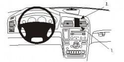 Fixation voiture Proclip  Brodit Volvo S60 Réf 852982