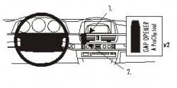 Fixation voiture Proclip  Brodit BMW 728-750 E65 Réf 853014