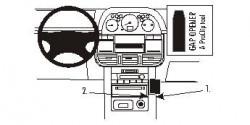 Fixation voiture Proclip  Brodit Nissan X-Trail Réf 853016
