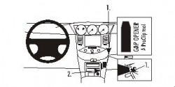 Fixation voiture Proclip  Brodit Nissan Primera Réf 853018