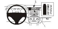 Fixation voiture Proclip  Brodit Fiat Stilo Réf 853019