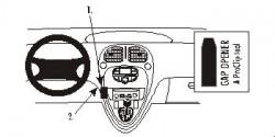Fixation voiture Proclip  Brodit Citroen Xsara Picasso Réf 853026