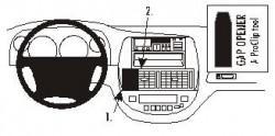 Fixation voiture Proclip  Brodit Chevrolet Rezzo Réf 853032