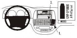 Fixation voiture Proclip  Brodit Chevrolet Rezzo Réf 853033