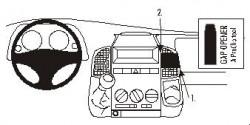 Fixation voiture Proclip  Brodit Citroen Jumper Réf 853034