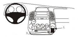 Fixation voiture Proclip  Brodit Citroen Jumper Réf 853038
