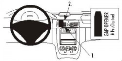 Fixation voiture Proclip  Brodit Mercedes Benz Vaneo Réf 853045