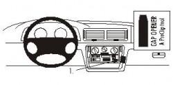 Fixation voiture Proclip  Brodit Volkswagen Passat Réf 853050