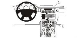Fixation voiture Proclip  Brodit Land Rover Range Rover Réf 853051