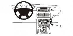 Fixation voiture Proclip  Brodit Land Rover Range Rover Réf 853053