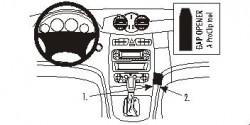 Fixation voiture Proclip  Brodit Mercedes Benz CLK-Class Réf 853071