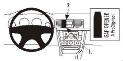Fixation voiture Proclip  Brodit Opel Signum Réf 853076