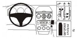 Fixation voiture Proclip  Brodit Mazda 6 Réf 853082