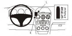 Fixation voiture Proclip  Brodit Mazda 6 Réf 853091