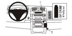 Fixation voiture Proclip  Brodit Cadillac CTS Réf 853093